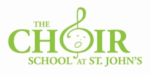 choir school logo not green box